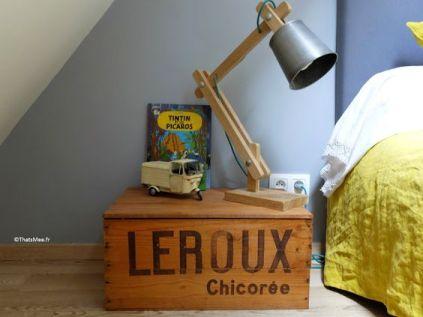 table-de-chevet-vieille-caisse