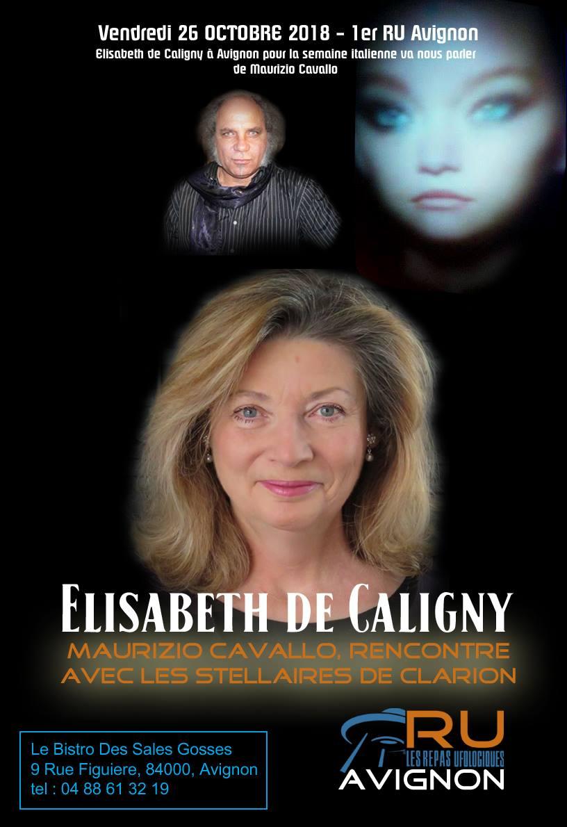 Qui Est Elisabeth De Caligny : elisabeth, caligny, Compte, Rendu, Octobre, Maurizio, Cavallo, Elisabeth, Caligny, REPAS, UFOLOGIQUES
