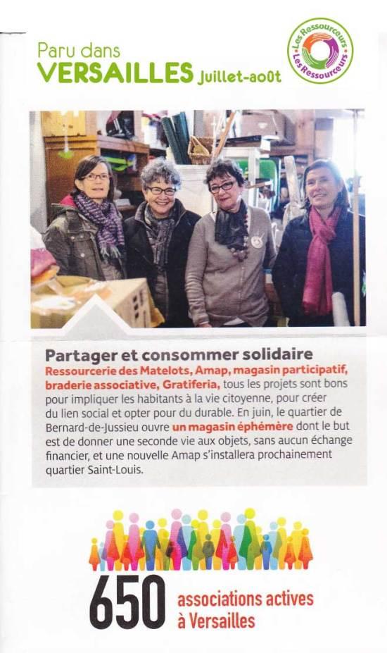 article d'information Versailles
