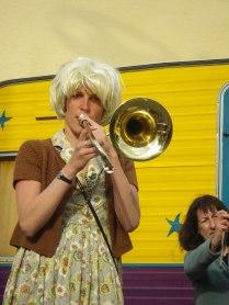 Claire, trombonne