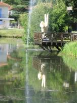 Didier TRENET v étude d'une fontaine à Lalinde EPHEMERES 2009 (10)