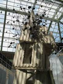 Monumenta Kiefer Tour aux tournesols