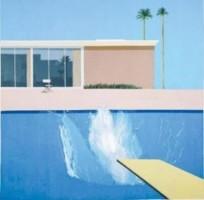 David Hocney, a bigger splash, 1967