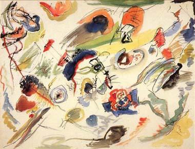 "Vassily KANDINSKY : ""aquarelle"""