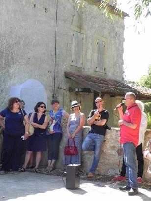 2015 vernissage de l'oeuvre de Jean-Luc BICHAUD à Lalinde (7)