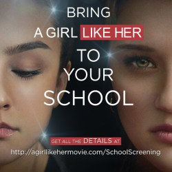 Une docu-fiction sur l'intimidation : « A girl like her »
