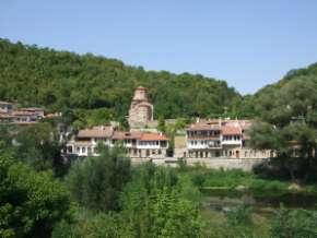 Veliko Tarnovo ; ancienne capitale de Bulgarie centrale 2