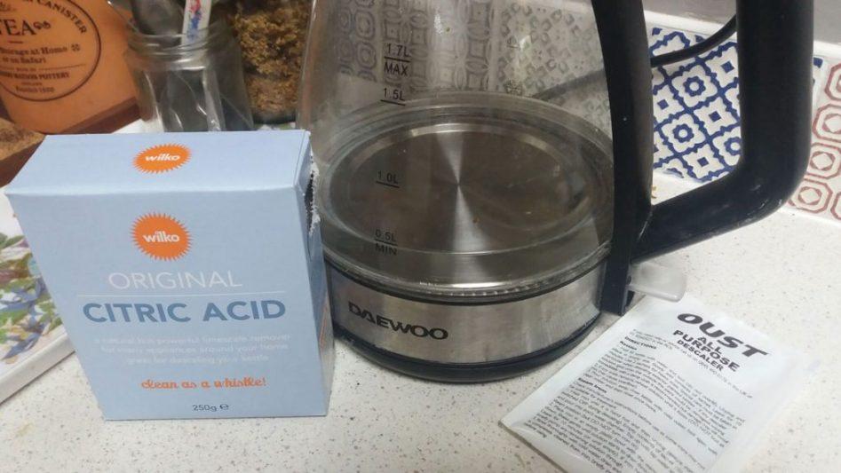 citric acid descaler