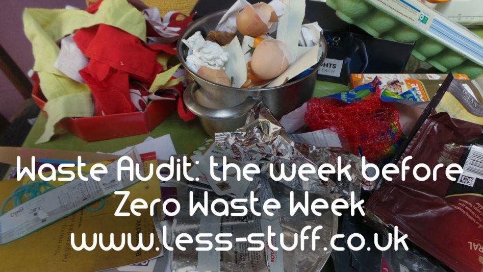 Zero Waste Audit 2017