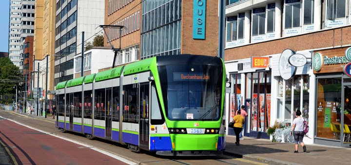 London Tramlink Stadler Rail Variobahn-2563