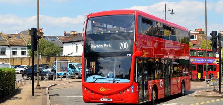 Go Ahead London General Optare Metrodecker EV YJ21 EYG-Me6