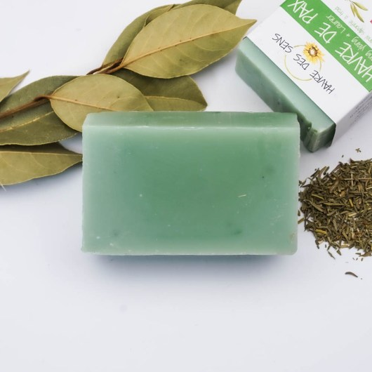 YLANG YLANG & LAURIER; SERENITE - Savon solide saponifié à froid, surgras, naturel et bio, zéro déchet