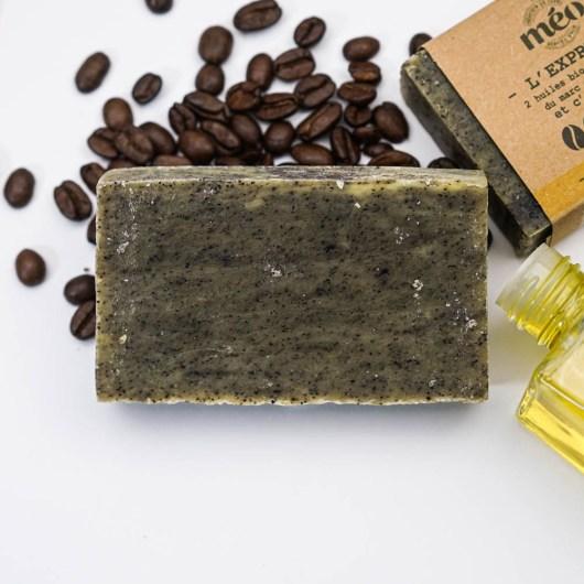 Gommage corps ou peaux normales - Exfoliant - Savon solide saponifié à froid, surgras, naturel et bio, zéro déchet