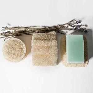 Loofah, luffa, loofa - accessoire zéro déchet - gommage naturel - zéro déchet - soin du corps