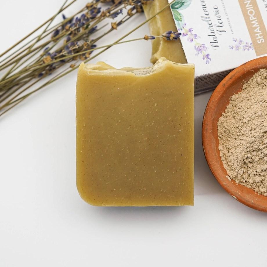 Shampoing n°1 - Naturellement Fleurie - Savon solide saponifié à froid, surgras, naturel et bio, zéro déchet