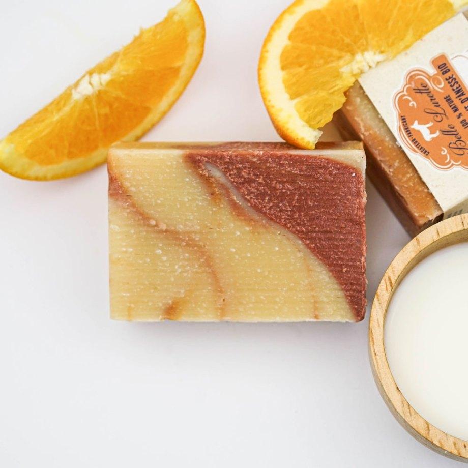 Savon au lait d'ânesse - Orange
