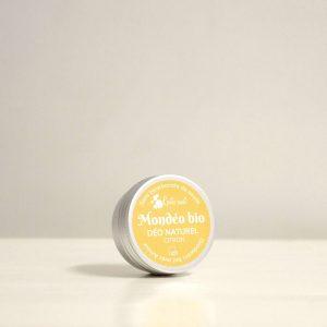 Déodorant bio Citron Patchouli