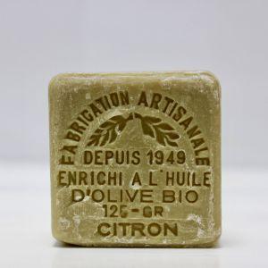 Savon citron à l'huile d'olive bio 125 gr Le Sérail