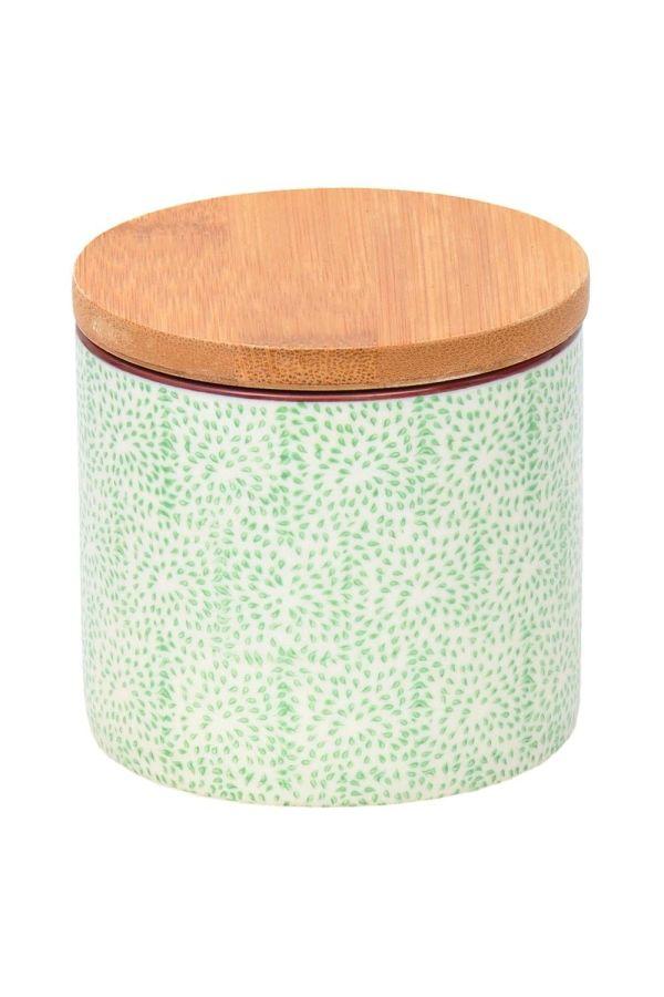 boite en céramique verte