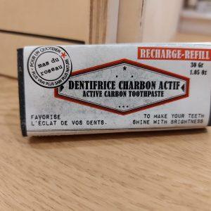 Recharge Dentifrice Solide Charbon Actif & Tea Tree