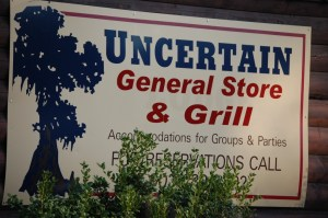 The Uncertain General Store and Grill