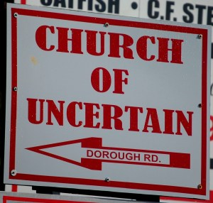 The Church of Uncertain