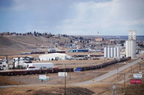 Shelby, Montana -- as seen from US Route 2