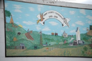 Centennial Mural for Tripp County in Winner