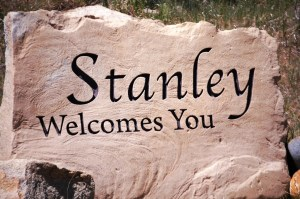 Welcome to Stanley, Idaho