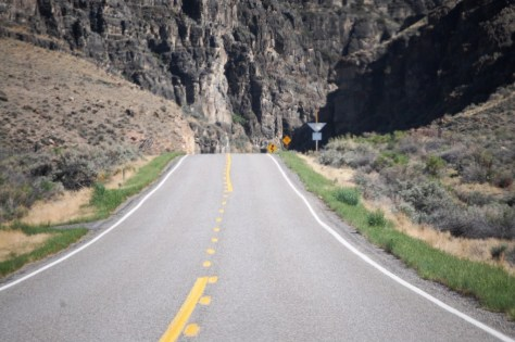 Grandview Canyon on US 93 - northern section of the Peaks to Craters Scenic Byway