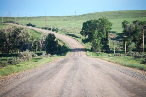 Gravel Road - Yoleta Trail Rd. east of Craig, CO