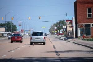 Main Street of Texline