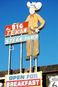 Big Texan Steak House - home of the FREE 72 OZ Steak (if you can eat it all) - Amarillo, Texas