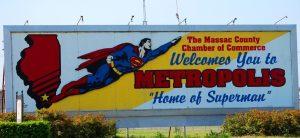 Welcome to Metropolis, home of Superman