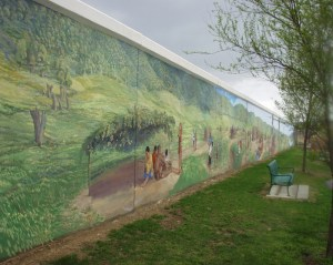 Dafford's History Mural in Point Pleasant.