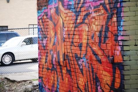 More colorful graffiti in Northside