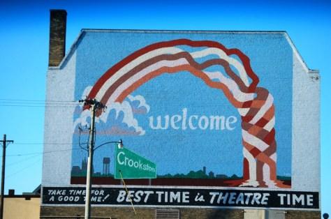Crookston, MN Wall Mural