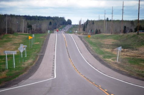 US Route 2 east of Floodwood, MN
