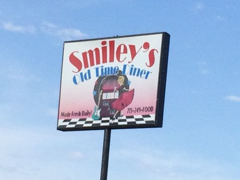 Smiley's Old Time Diner in Hancock, Wisconsin