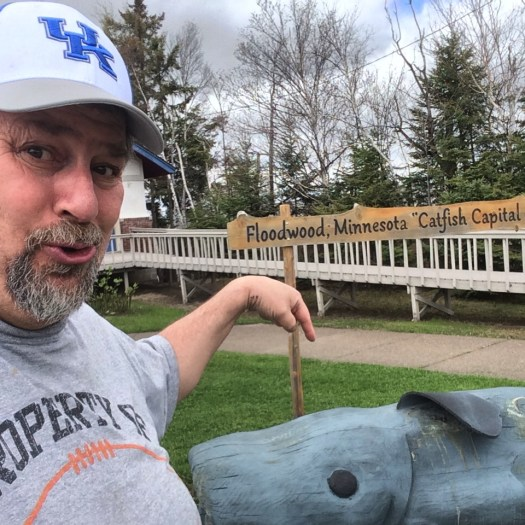 Sumoflam hangs with the Floodwood Catfish