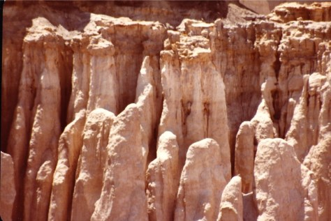 Coal Mine Canyon Hoodoos, 1983