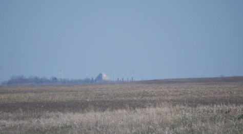 The SRMSC as seen from ND Hwy 1 about 5 miles south of Nekoma, ND
