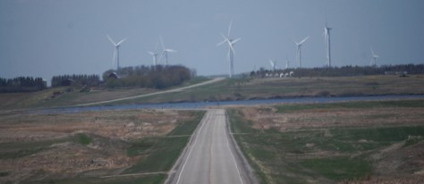 Wind Farm near Rugby, ND