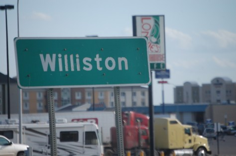Welcome to Williston, Boom Town USA