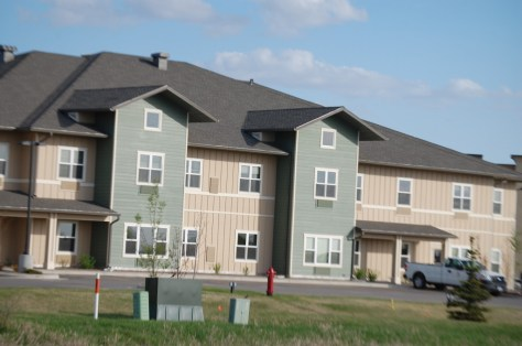 Long term housing projects abound in Williston.
