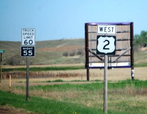 US Route 2 Montana - The Hi-Line
