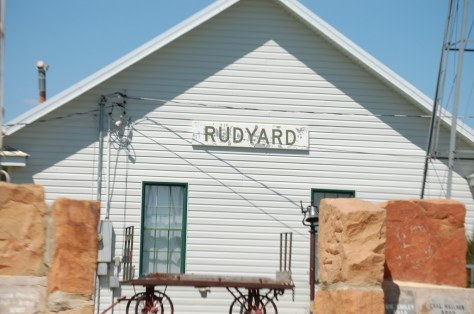 The Depot Museum in Rudyard, MT