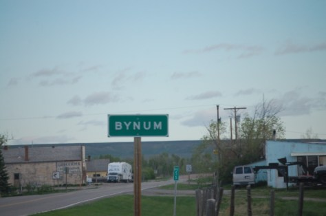 Bynum, Montana