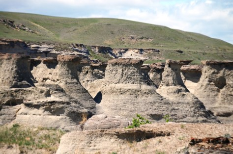 Rock City near Valier, Montana