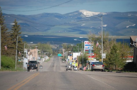 US 89 in White Sulphur Springs, Montana
